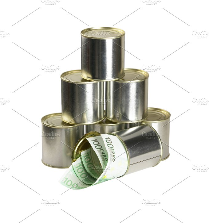 euro on a tin can 5.jpg - Business