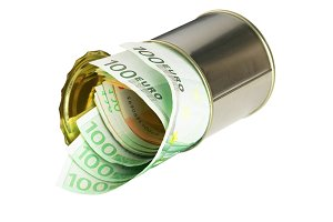 euro on a tin can.jpg