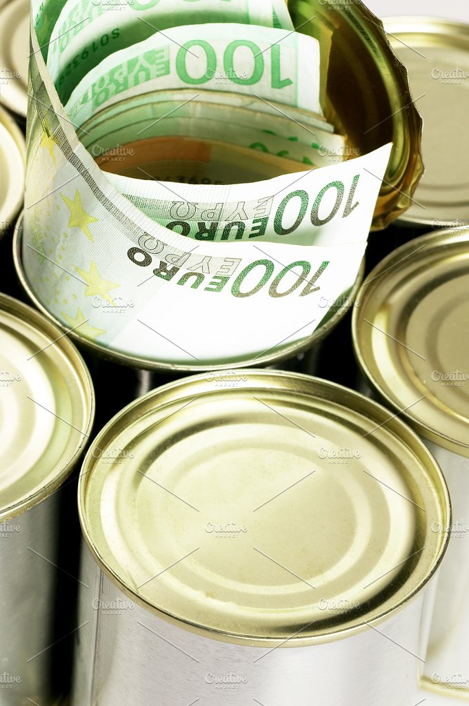 euro on a tin can 4.jpg - Business