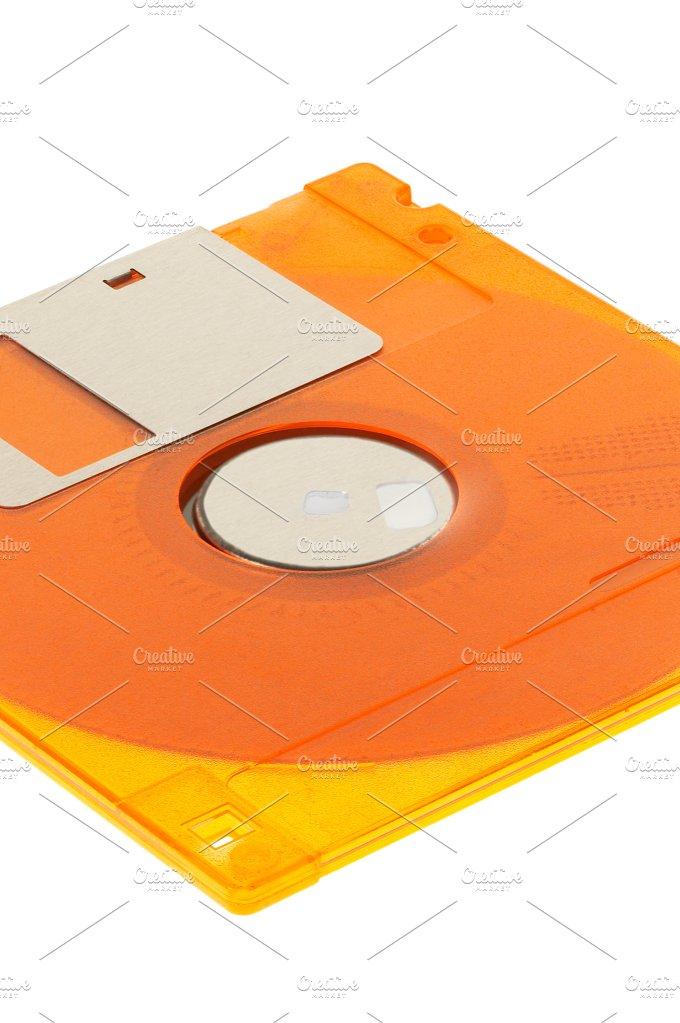 floppy orange.jpg - Technology