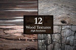 12 Wood Textures