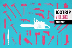 ICOTRIP - violence icon bundle