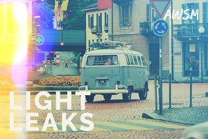 Light Leaks - Photo Overlays