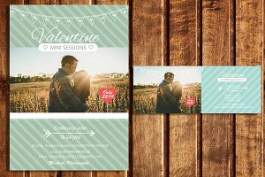 Valentine Mini Sessions & Timeline
