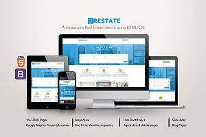 Restate - A Real Estate theme
