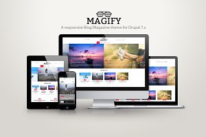 Magify - A blog/magazine theme
