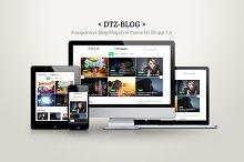 DTZ-Blog - A blog/magazine theme