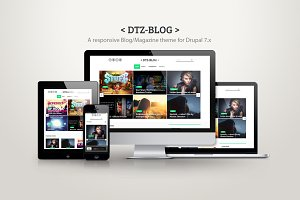 DTZ-Blog - A blog/magazine theme