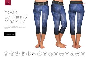 Leggings Yoga Mock-up