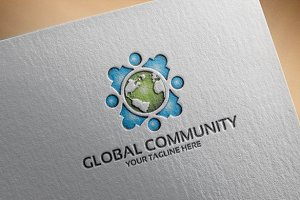 Global Community - Logo Template