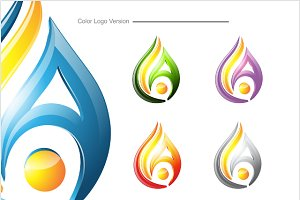 A gas - Logo Template
