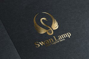 Swan Lamp - Logo Template