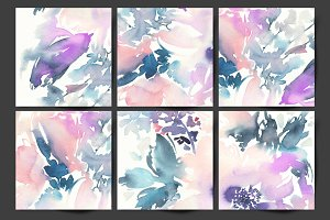 Abstract background cards
