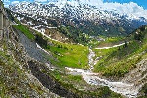Alpine panorama (Vorarlberg,Austria)