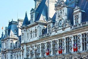 The Hotel de Ville,Paris, France