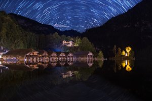 Koenigssee and Startrails