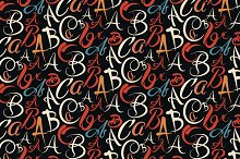 abc,fonts, abstract background