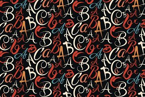 abc, fonts, abstract background