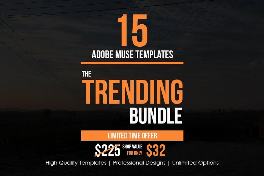 The Trending Adobe Muse Bundle