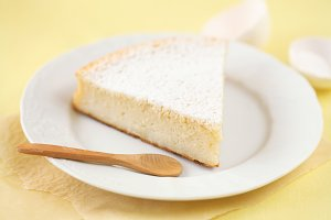 Piece of Sugar Milk Cake