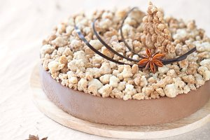 Spice Chocolate Mousse Cake