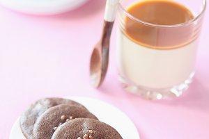 Vanilla Panna Cotta with Caramel