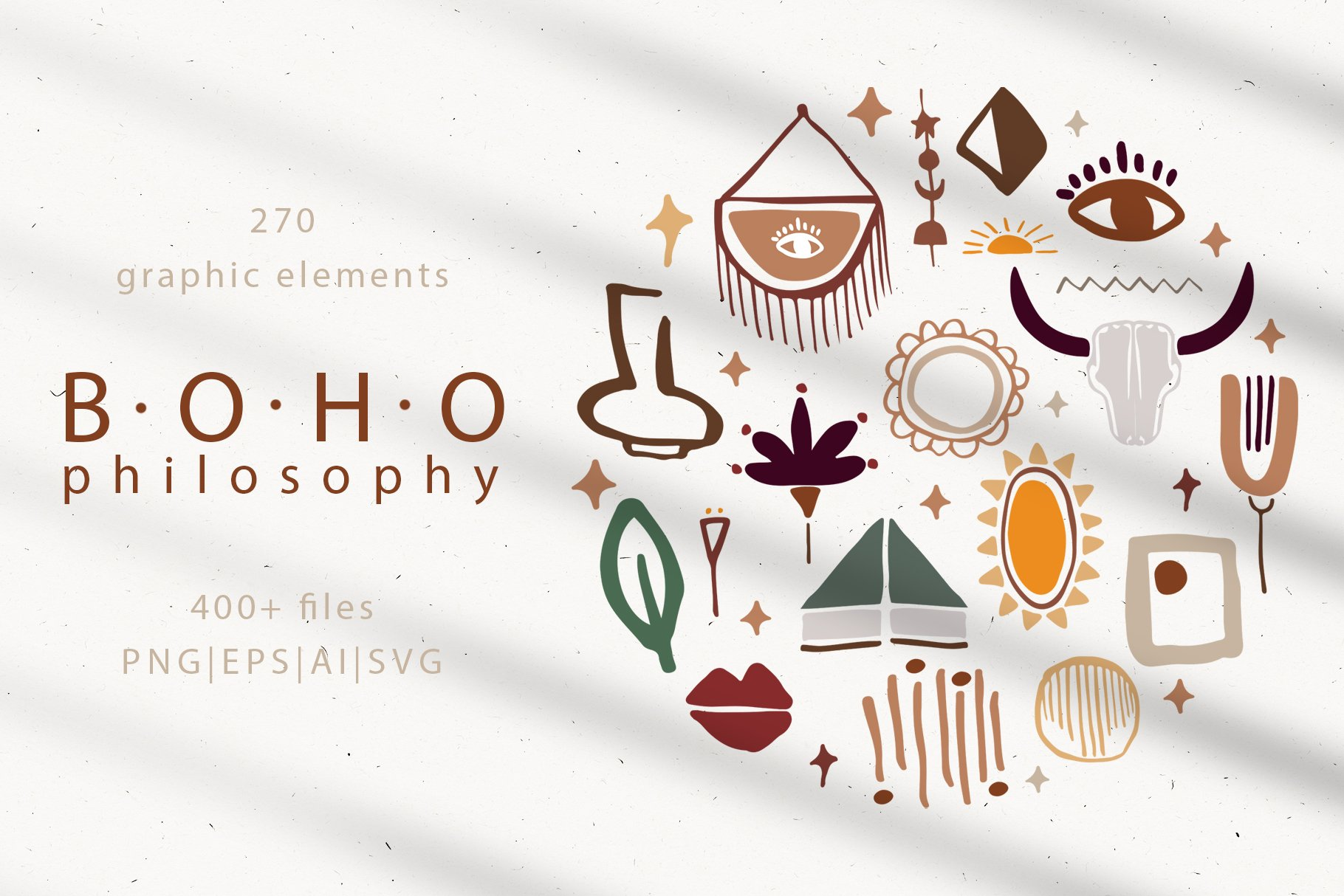 Boho philosophy collection