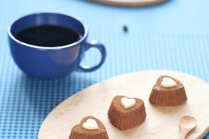 Chocolate Coffee Sweet Heart Truffle