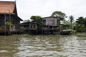 Bangkok River Houses