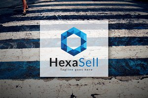 [68% off] Hexa Sell - Logo Design