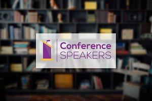 [68% off] Conference Speaker Logo