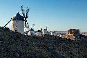 Historic Windmills at Consuegra