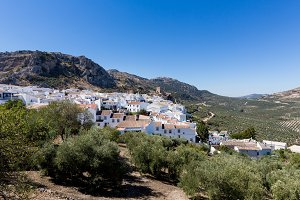 Hill town of Zuheros in Spain