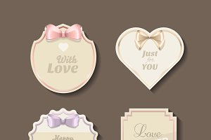 Romantic stickers