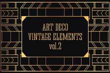 31 Art Deco Design Elements Vol.2