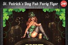 St. Patrick's Day Pub Party Flyer