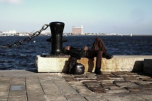Homeless in Boston