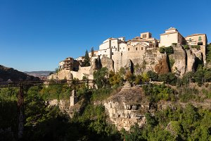 Town of Cuenca in Spain