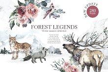 "•UPDATED ""Forest Legends"" Winter set"