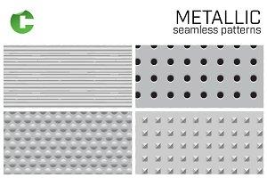 Metallic - seamless patterns