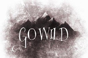 Go Wild Mountain Scene