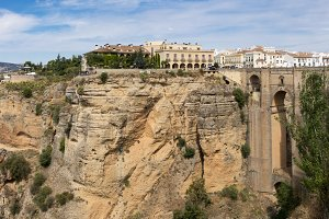 El Tajo Gorge at Ronda Spain