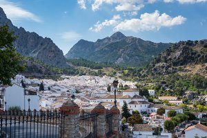 Grazalema in Andalucia Spain