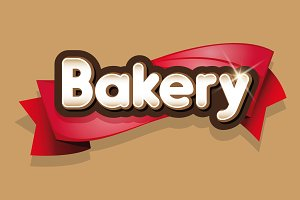 Bakery sign or logotype