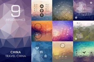 9 China infographics