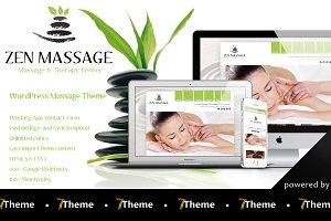 Zen - Massage Salon WP Theme