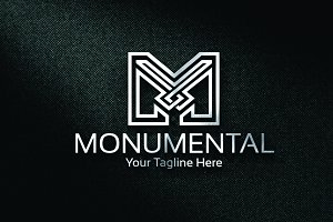 Monumental - Logo Template