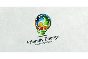 Friendly Energy - Logo Template