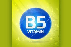 Vitamin B5 icon