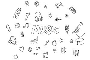Music - doodles collection